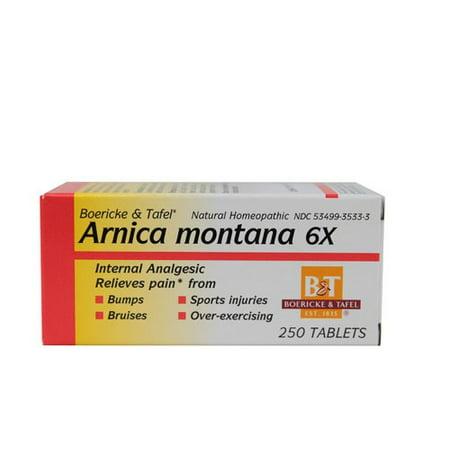 Boericke & Tafel Arnica montana 6X, comprimés, 250 ch