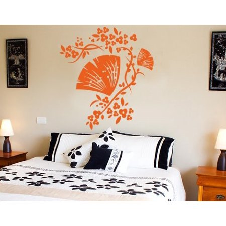 Floral Decorative Ornament Wall Decal wall decal sticker mural vinyl a