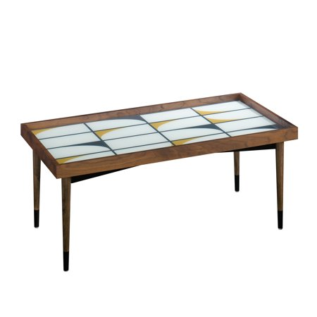 Better Homes & Gardens Montclair Tray Top Coffee Table, Vintage Walnut Finish