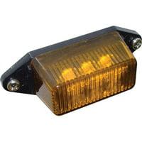 "SeaSense LED 12 Volt Clearance Lights, 6-1/2"" Pigtail, Amber"