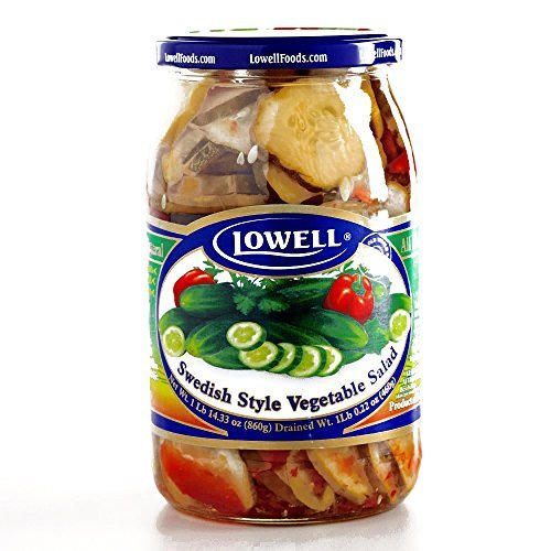 Lowell Swedish-Style Vegetable Salad 30.3 oz each (4 Item...