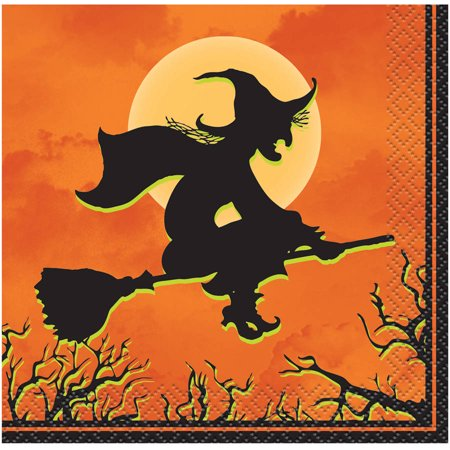 Haunted House Halloween Beverage Napkins, 24ct