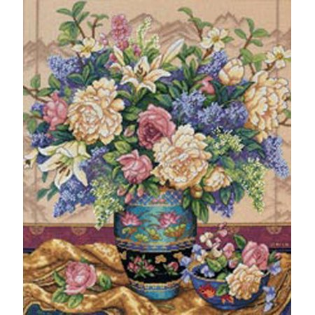 Completed Counted Cross Stitch - Dimensions Gold Collection
