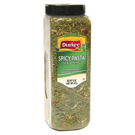 6 PACKS : Durkee Pasta Seasoning 12oz Container (Pasta Seasoning)