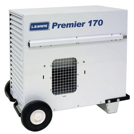 L.B. WHITE Portable Gas Heater,LP,170000 BtuH TS170ASPN220097