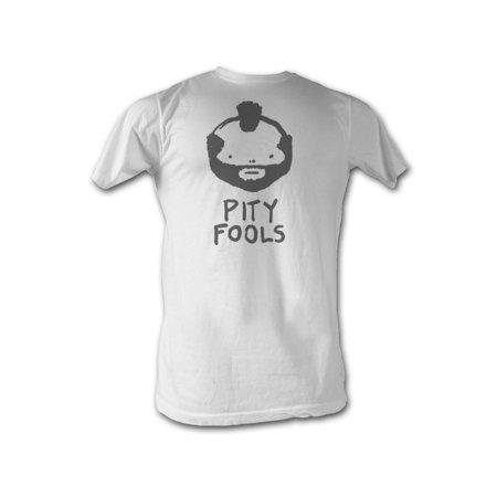Mr. T Pity Fools Adult T-Shirt Tee](Mr T Pity The Fool)