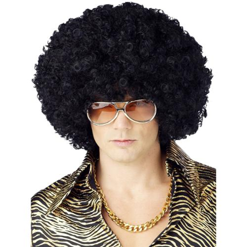 Jumbo Afro Wig - Color Black