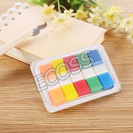 INTBUYING Post Flags 200 Flags 2 Dispenser Sticky Note Bookmark Marker Memo Flags)(Item #249067)