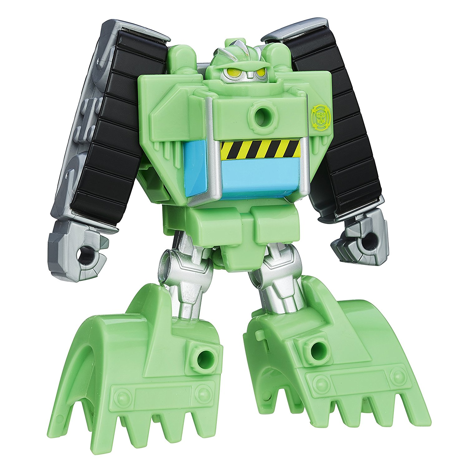 Heroes Transformers Rescue Bots Rescan Boulder Construction Bot Action Figure..., By Playskool Ship from US by