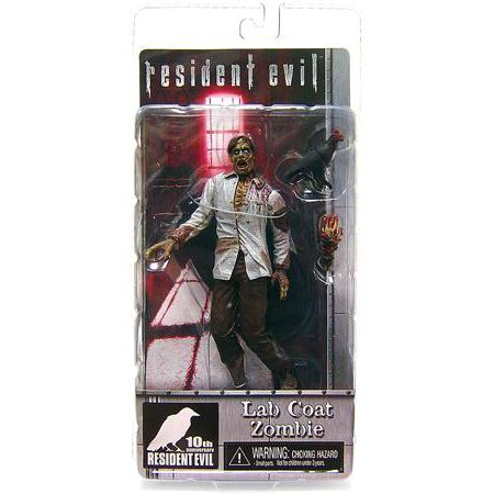 - NECA Resident Evil 10th Anniversary Lab Coat Zombie Action Figure