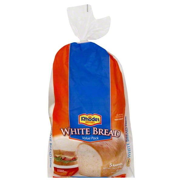 Rhodes Bake N Serv Rhodes Bread 5 Ea Walmart Com Walmart Com