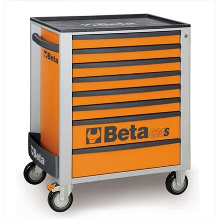 Beta Tools 024002081 C24S 8 O-Mobile Roller Cab - 8 Drawers,