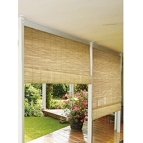 Radiance Reed Roll Up Window Blinds, Natural   Walmart.com