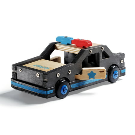 Stanley Jr - Build your Own Police Car Kit