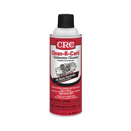 CRC 05379 12 Oz Clean-R-Carb Carburetor Cleaner on