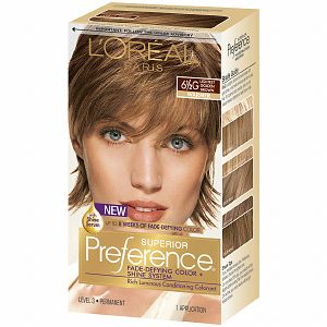 L'Oreal Paris Superior Preference Permanent Hair Color, Lightest Golden Brown 6 1/2G 1.0 ea(pack of 6)