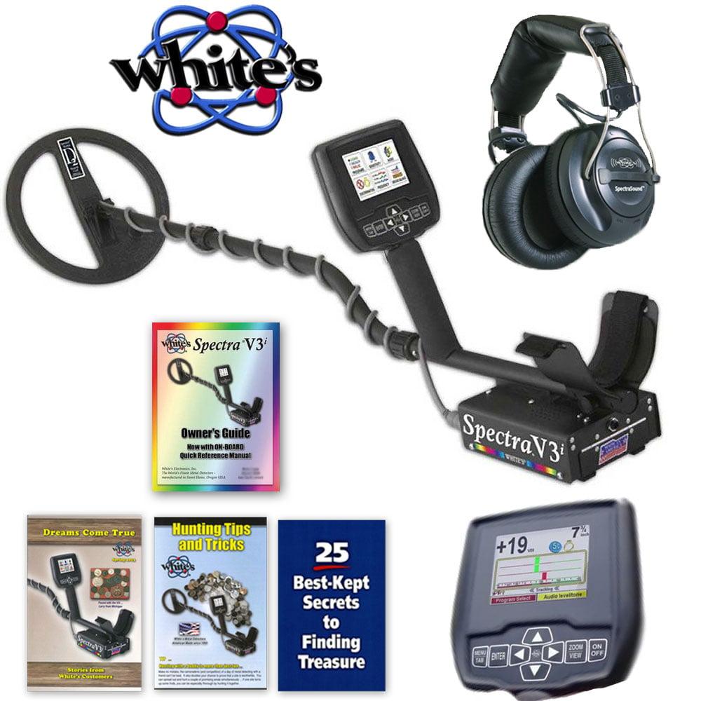 Whites Spectra V3i Metal Detector w  Wireless Headphones by Whites Electronics