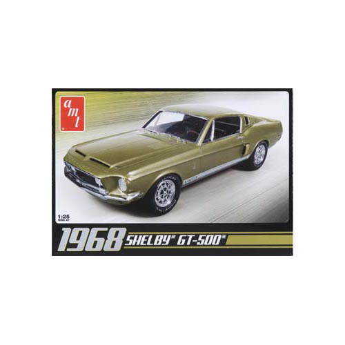 1968 Shelby Gt500 Plastic Model Kit