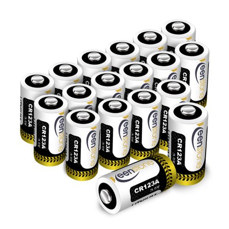 18 Pcs CR123 CR123A Lithium Battery, High Performance  Primary Batteries for Flashlight Photo Digital CameraToys Torch(Not Compatible with Arlo