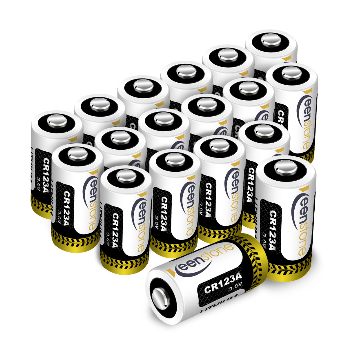 18 Pcs CR123 CR123A Lithium Battery, High Performance  Primary Batteries for Flashlight Photo Digital CameraToys Torch(Not Compatible with Arlo Cameras)