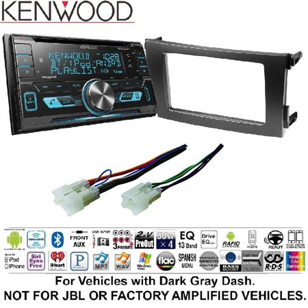 Kenwood Excelon Dpx793bh Double Din Cd Receiver With Built In