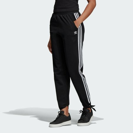 Adidas Originals Women's Knotted Track Pants Black FH7999