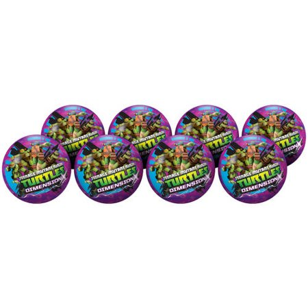 Hedstrom #10 Teenage Mutant Ninja Turtles Playball Deflate Party Pack](Girl Ninja Turtle Party)