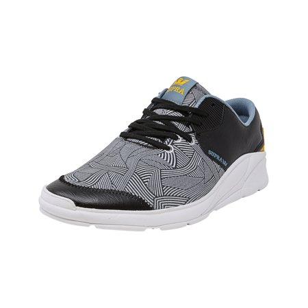 a54b7568dc Supra Men's Noiz White / Ankle-High Fabric Skateboarding Shoe - 13M - image  1 ...