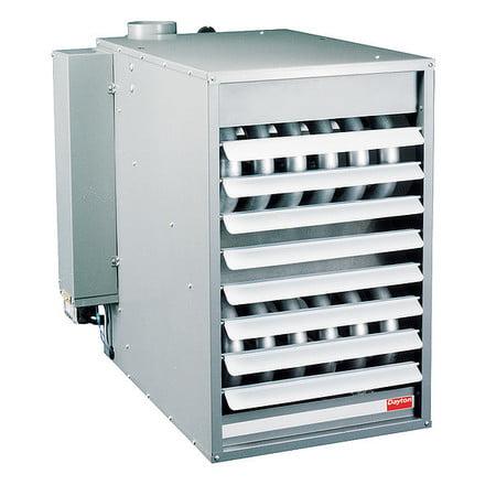"DAYTON Unit Heater,NG,150000 BtuH,20-3/4"" W 4LX56"