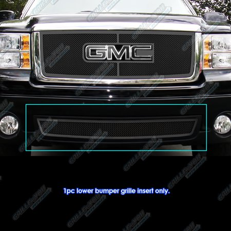- Compatible with 07-2013 GMC Sierra 1500 Denali 07-2010 2500 3500 HD Black Mesh Grille Grill G76495H
