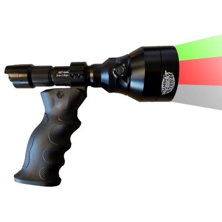 Wicked Lights A67iC 3-Color-In-1 (Green, Red, White LED's) Night Hunting Light Ergo Scan Kit