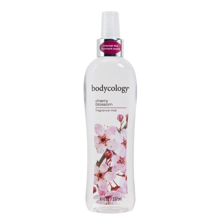 (2 pack) Bodycology Bodycology Cherry Blossom Fragrance Mist Spray for Women 8 oz