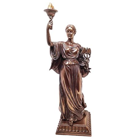 Greek Roman Goddess of Health Hygieia Statue Hygea Figurine Daughter If Asclepius Epione Physician Gift Doctor](Roman Greek Goddess)