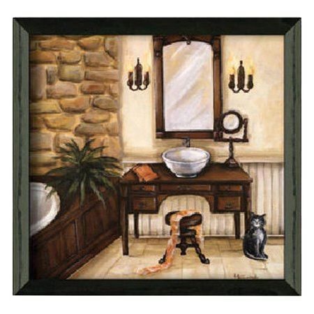 Timeless frames fireplace escape i framed painting print for Timeless fireplace designs