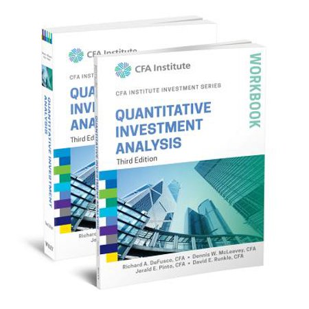 Quantitative Investment Analysis, 3e Book and Workbook