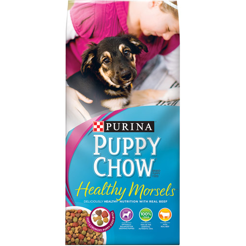 Purina Puppy Chow Tender and Crunchy Puppy Food 32 lb. Bag