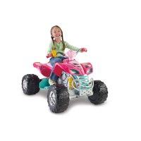 Power Wheels Barbie KFX 12-Volt Battery-Powered Ride-On