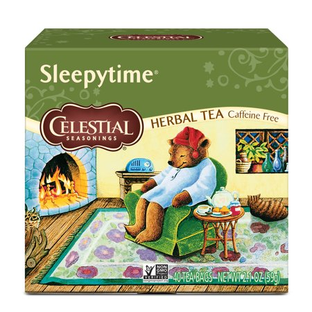 Oolong Tea Caffeine - Celestial Seasonings, Sleepytime Caffeine Free Herbal Tea, Tea Bags, 40 Ct