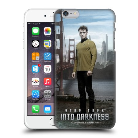 OFFICIAL STAR TREK CHARACTERS INTO DARKNESS XII HARD BACK CASE FOR APPLE IPHONE PHONES