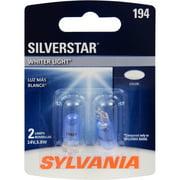 SYLVANIA 194 SilverStar Mini Bulb, Pack of 2