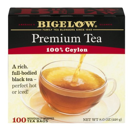 Bigelow 100% Premium Ceylon Tea Bags, 100 (Low Carb Chai Tea)