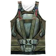 Dark Knight Rises Bane Costume FB Print Mens Sublimation Tank Top Shirt