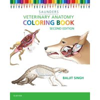 Veterinary Anatomy Coloring Book (Edition 2) (Paperback)