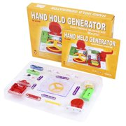 2289 Kids Hand Hold Generator Electronic Puzzles Blocks Kit Educational Toys