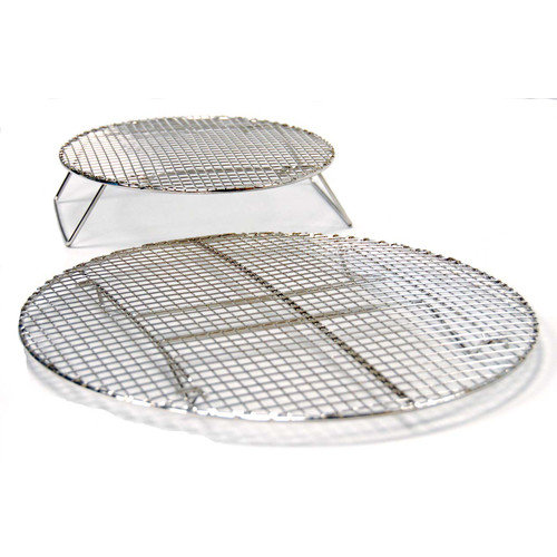Evo Outdoor Grills 2 Piece All Grills Circular Roasting and Baking Rack Set