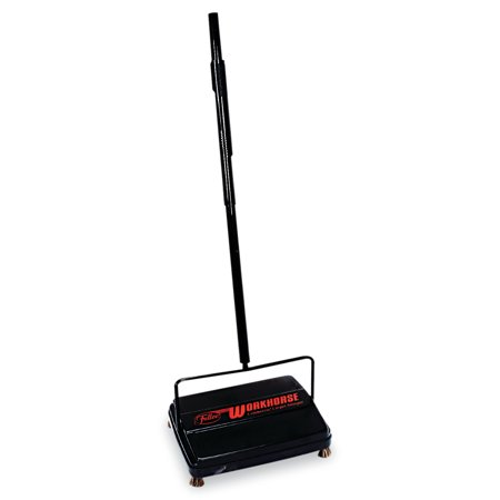 """Franklin Cleaning Technology Workhorse Carpet Sweeper, 46"""", Black"""