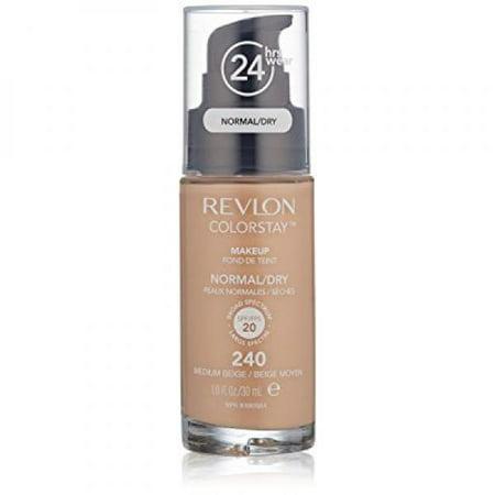 Revlon Colorstay Makeup For Normal/Dry Skin, Medium Beige, 1 Fl