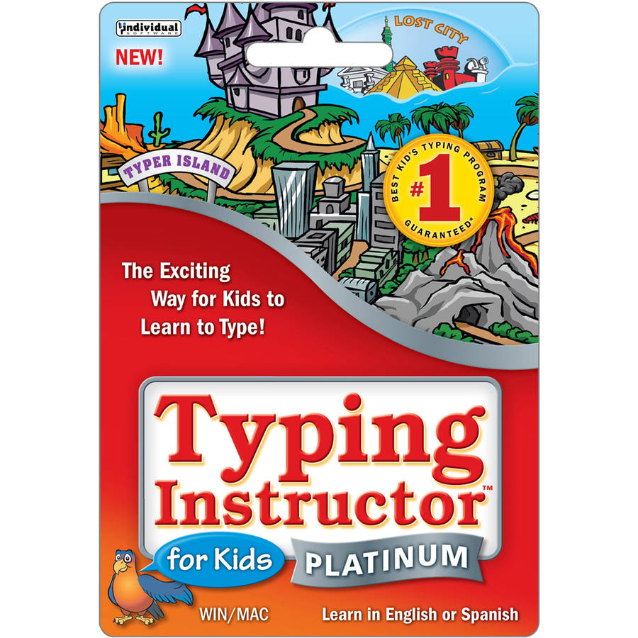 Individual Typing Instructor Platinum for Kids $14.99 eGift Card (Email Delivery)