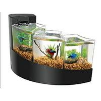 Aqueon Betta Falls Aquarium, Black