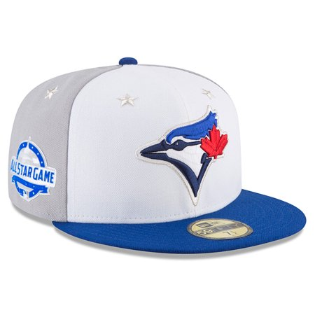 726529666e6 Toronto Blue Jays New Era 2018 MLB All-Star Game On-Field 59FIFTY Fitted Hat  - White Royal - Walmart.com